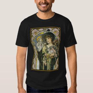 Men's Vintage T-Shirt Design - Mucha - La Tosca
