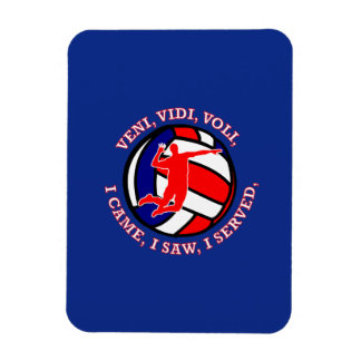 MEN'S VOLLEYBALL VVV SHIELD MAGNET