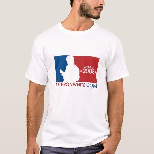 Men's VoteRonWhite.com sports logo T T-Shirt