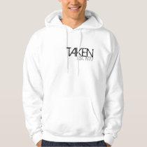 Men's Wedding Anniversary Hooded Sweatshirt