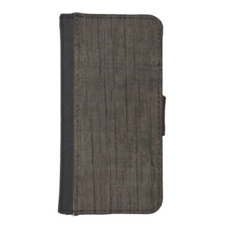 Mens Western Rustic Wood iPhone Wallet Case iPhone 5 Wallet Cases