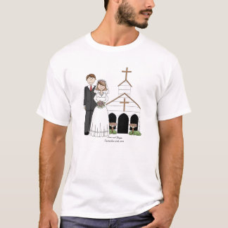 Men's Whimsical Wedding T-Shirt