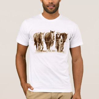 Men's White fitted T-shirt