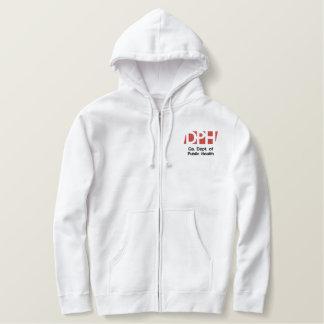 Men's White Hooded Sweat Shirt