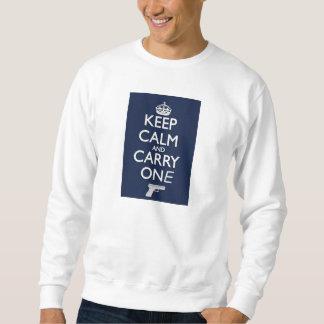 Men's white sweatshirt (XL)