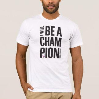 Men's White YESS Champion Tee