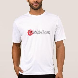 Men's Wicking Tee - Kickball.com Wordmark
