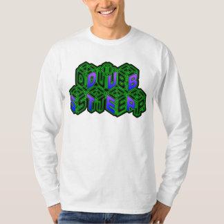 Mens Womens 3D Neon Cubes logo DUBSTEP T-Shirt