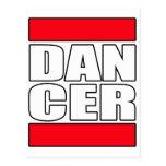 Mens womens dance dancing dancer t shirt tee post cards