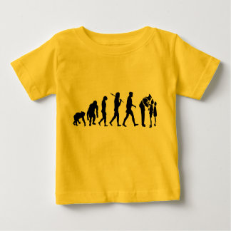 Mens Womens Emergency Services Evolution Work Baby T-Shirt