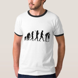 Mens Womens Emergency Services Evolution Work T-Shirt