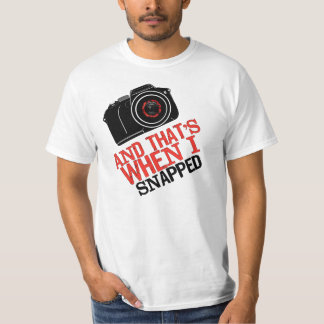 Mens & Womens Snapped Photography Shirt