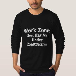 "Men's""Work Zone"" Long-Sleeve Christian T-Shirt"