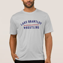 Mens Wrestling Gray Drtfit T-Shirt