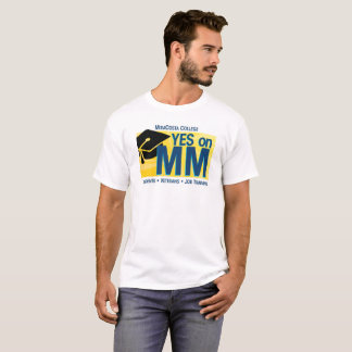 Men's Yes on MM for MiraCosta T-shirt