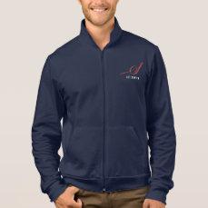 Men's Zippered Fleece Sweatshirt