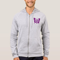 MEN'S ZIPPERED HOODED SWEAT SHIRT