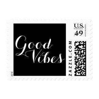 Mensaje adaptable del positivo del color de la sello