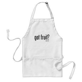 Mensaje conseguido del ministerio de la fruta delantal