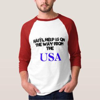Mensaje de Haití, los E.E.U.U. Playera