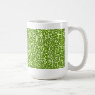 mensaje de la cal taza de café