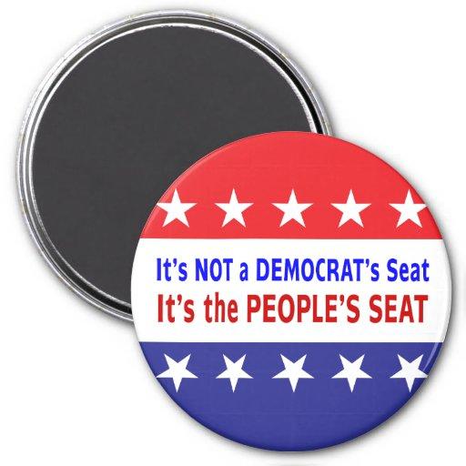 Mensaje de la elección de Seat de la gente Imanes