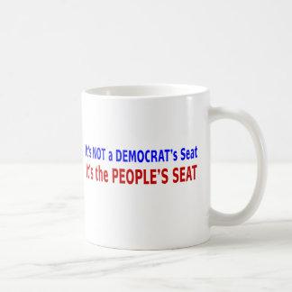 Mensaje de la elección de Seat de la gente Tazas De Café