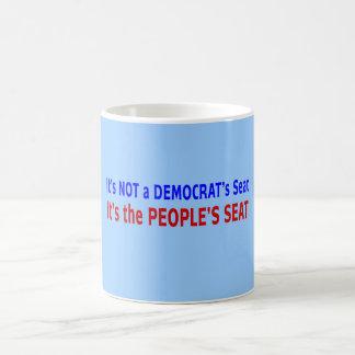 Mensaje de la elección de Seat de la gente Taza De Café