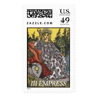 Mensaje de la emperatriz sello
