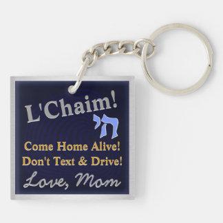 Mensaje de la mamá (llavero personalizado)