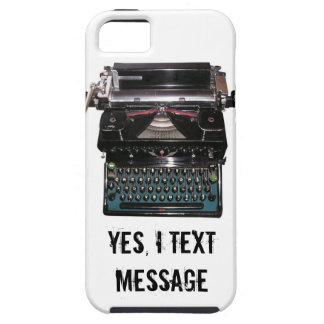 Mensaje de texto iPhone 5 fundas