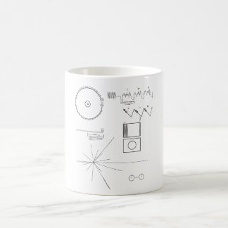 Mensaje del viajero tazas de café