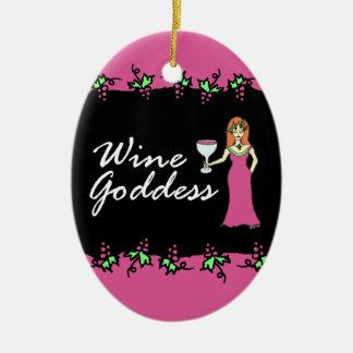 Mensaje divino de la vid w/Custom de la diosa del Adorno Para Reyes