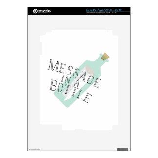Mensaje en una botella iPad 3 skin
