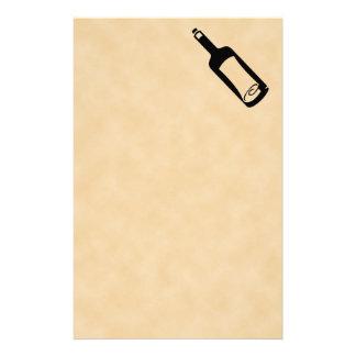 Mensaje en una botella papeleria personalizada