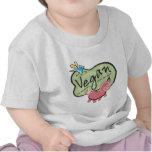 Mensaje lindo del vegano camiseta
