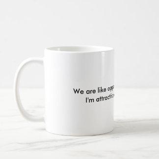 Mensaje que insulta sobre cómo es atractivo, en la taza clásica