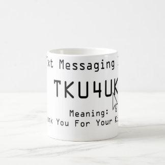 Mensajería 101 de Txt Tazas De Café
