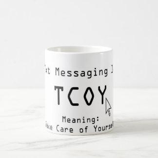 Mensajería 101 de Txt Tazas