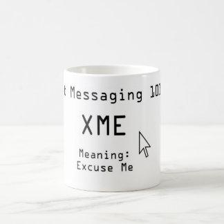 Mensajería 101 de Txt Taza Mágica