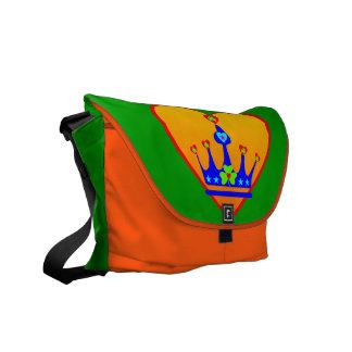mensajero Bag♥♪ del Irlandés-Trébol-Carrito del am Bolsas De Mensajería