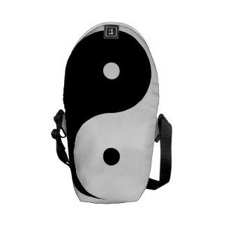 Mensajero cero del carrito de Yin Yang mini Bolsa De Mensajería