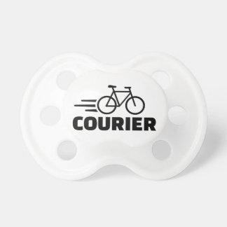 Mensajero de la bici chupetes para bebés