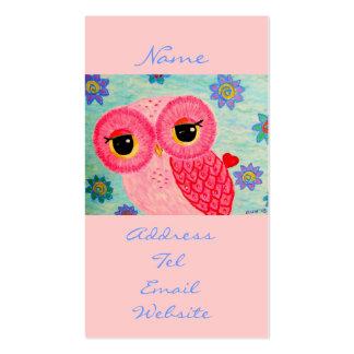 Mensajero del amor tarjetas de visita