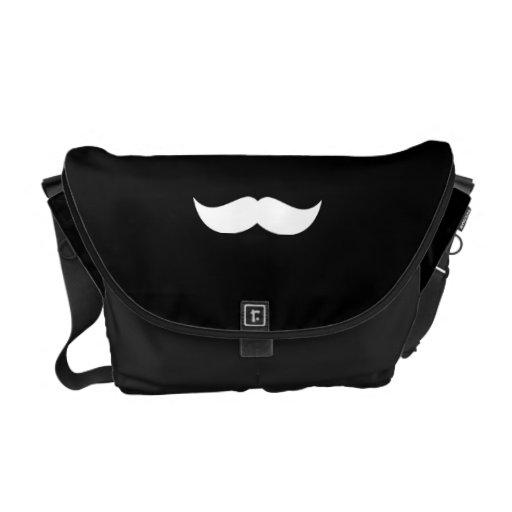 Mensajero del carrito del bigote bolsas messenger
