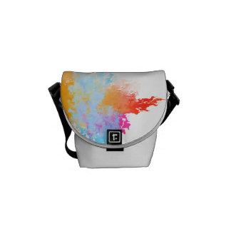 Mensajero del carrito del chapoteo del color bolsas de mensajeria