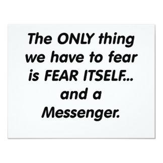 mensajero del miedo anuncio