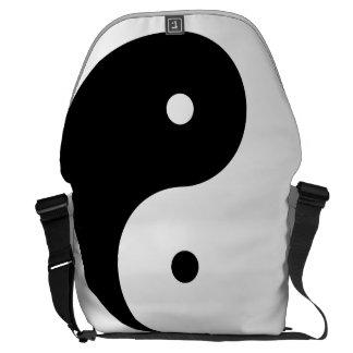 Mensajero grande del carrito cero de Yin Yang Bolsa De Mensajería