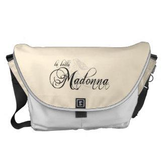 Mensajero/la bolsa de pañales de Bella Madonna del Bolsa De Mensajeria
