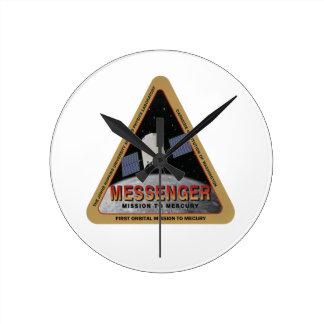 MENSAJERO - misión orbital en Marte Reloj De Pared